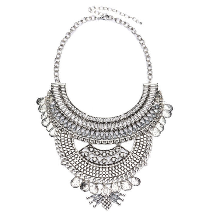 Crystal Collier Femme Vintage Necklaces
