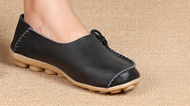 Flat Genuine Leather Shoe - youandbeautifulpeople