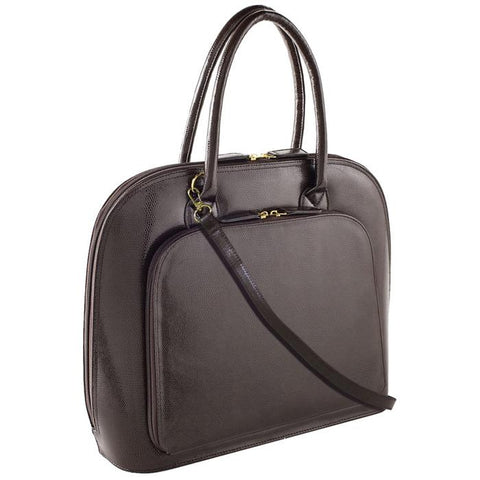 Park Avenue Notebook Case Brown | Women in Business Laptop Bags | Branford, Connecticut
