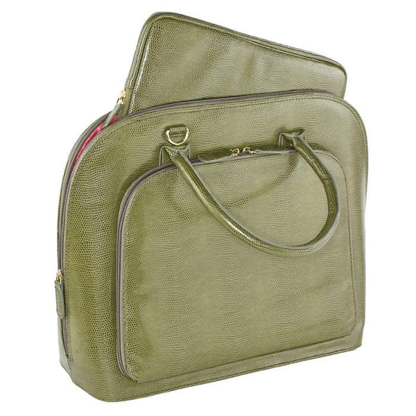 Park Avenue Notebook Case Olive | Women in Business Laptop Bags | Branford, Connecticut