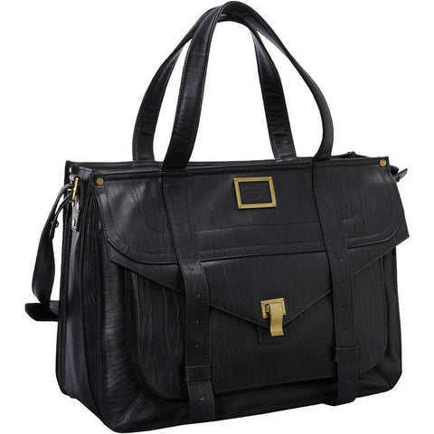 Mercer Street Top Load Case Black | Women in Business Laptop Bags | Branford, Connecticut