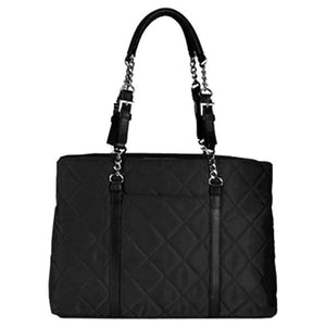 Metro Fashion Tote Black | Women in Business Laptop Bags | Branford, Connecticut
