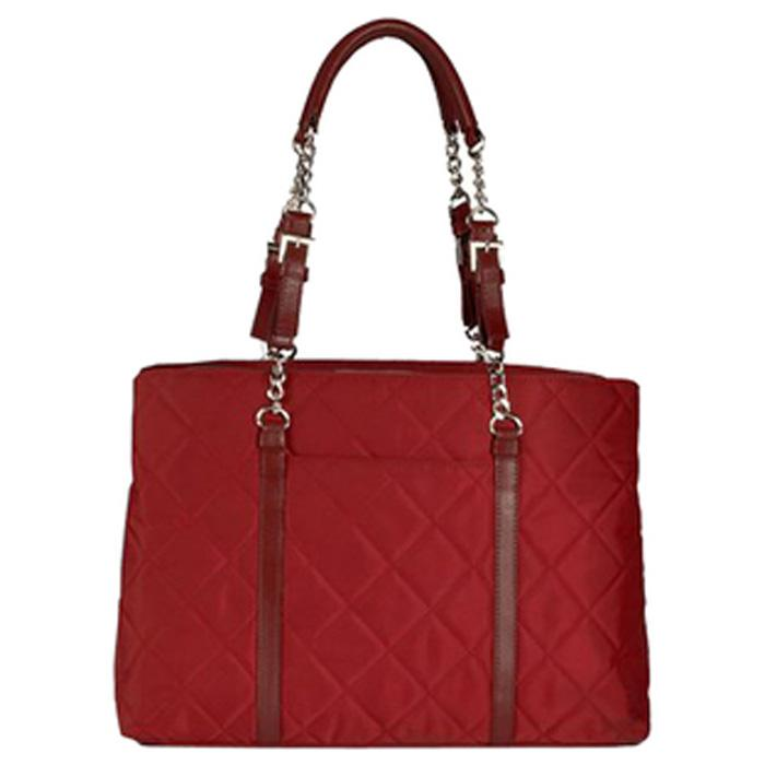 Metro Fashion Tote Red | Women in Business Laptop Bags | Branford, Connecticut