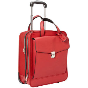 Monte Carlo Roller Red | Women in Business Laptop Bags | Branford, Connecticut