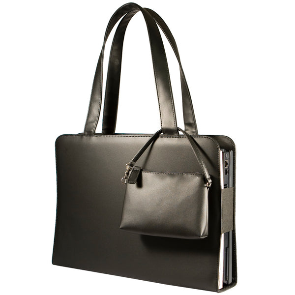 The Shuttle Black | Women in Business Laptop Bags | Branford, Connecticut