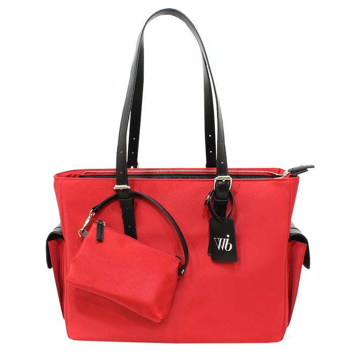 Slim Liberator Tote Red | Women in Business Laptop Bags | Branford, Connecticut