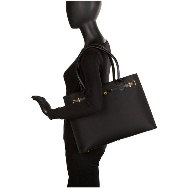 Thoroughbred Tote Black | Women in Business Laptop Bags | Branford, Connecticut