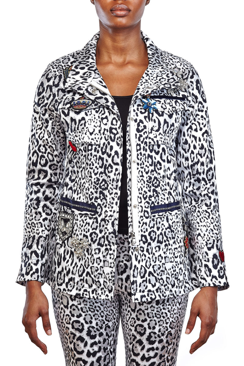 L38044C - All Patched Up Jacket (Multi)
