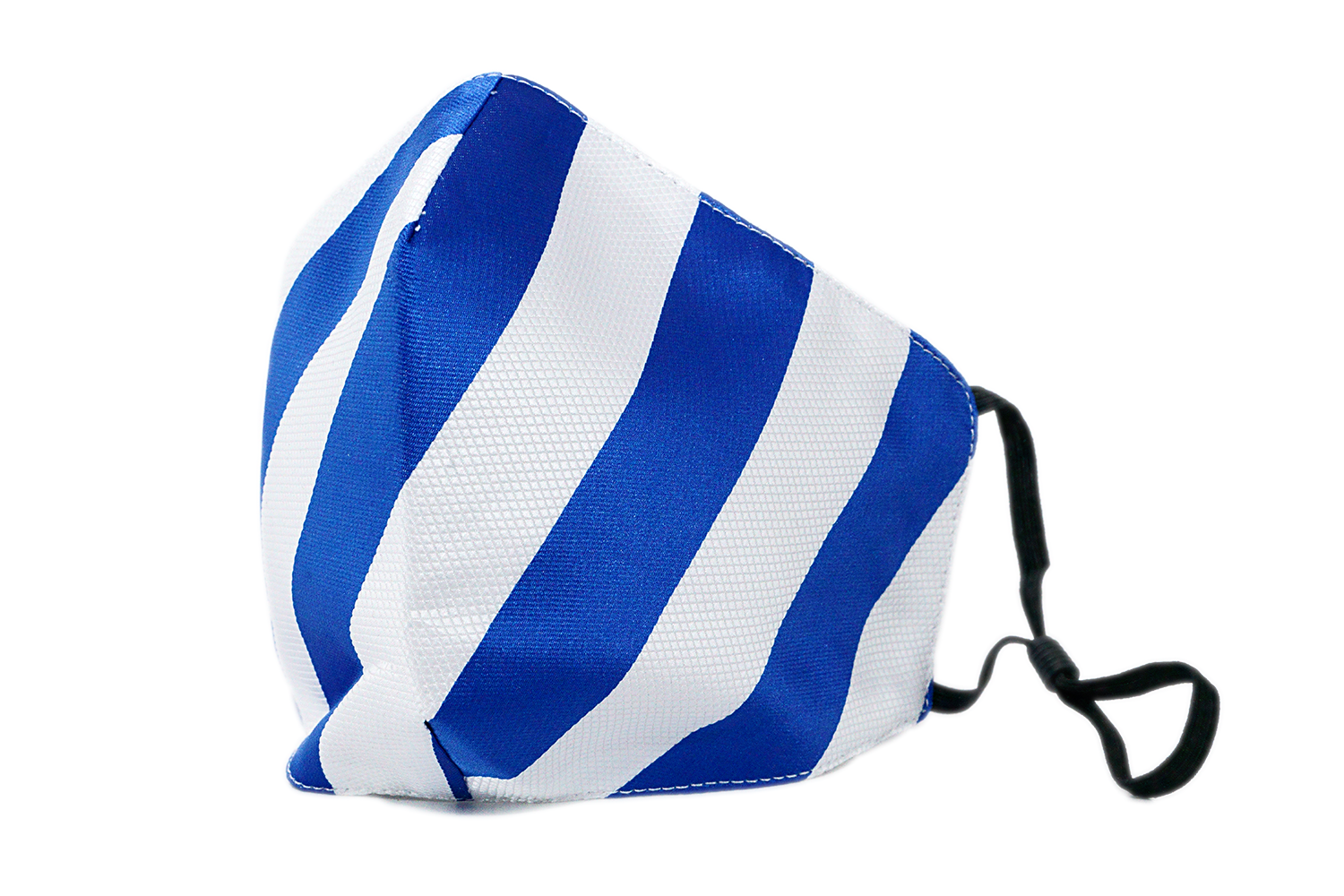 Boy's Club Stripe Mask (Blue/White)
