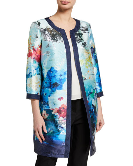 FLORAL CLOUDS JACKET - WOMENS* (Multi)