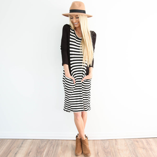 Tina Stripe Dress