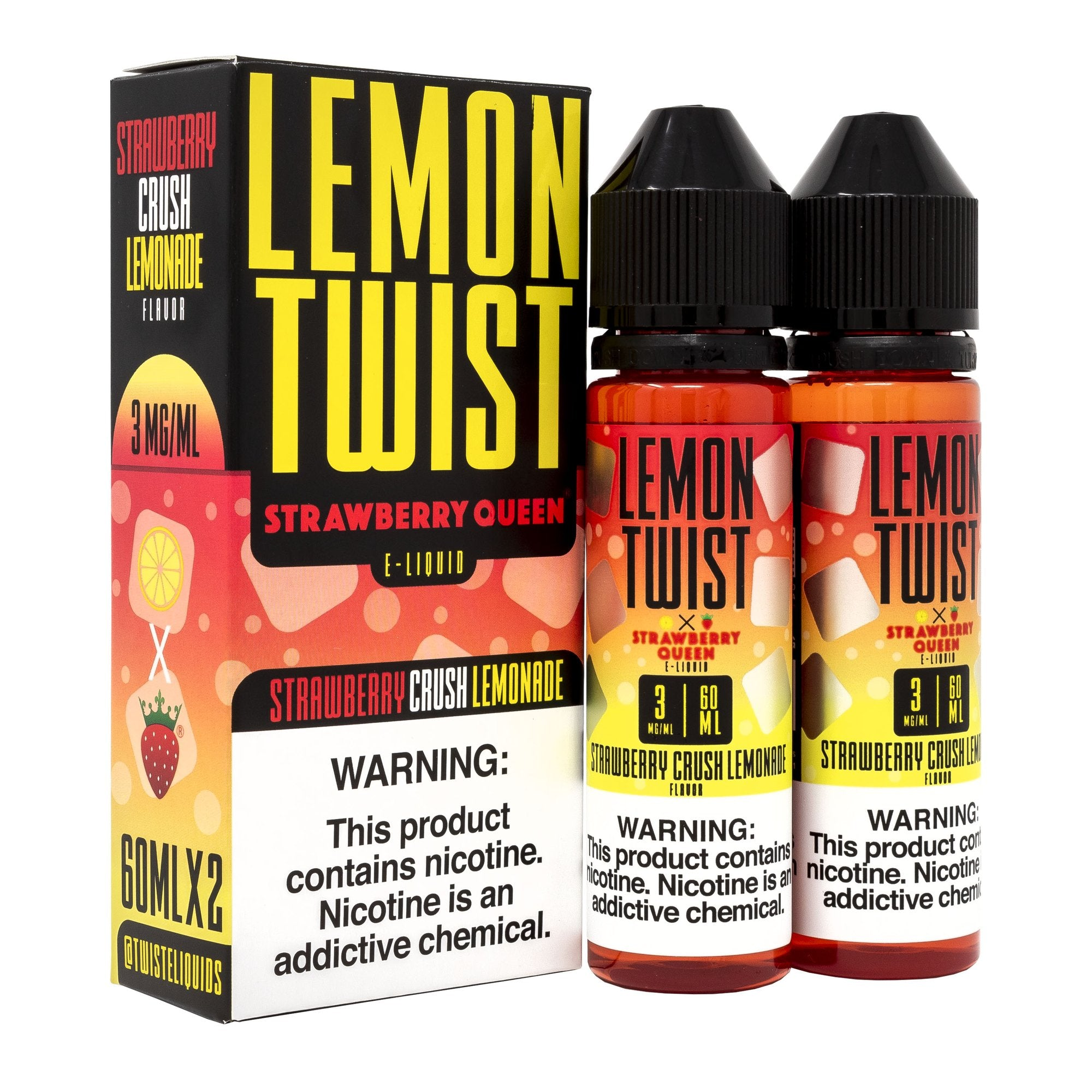 Lemon Twist - Strawberry Crush Lemonade (120ml)