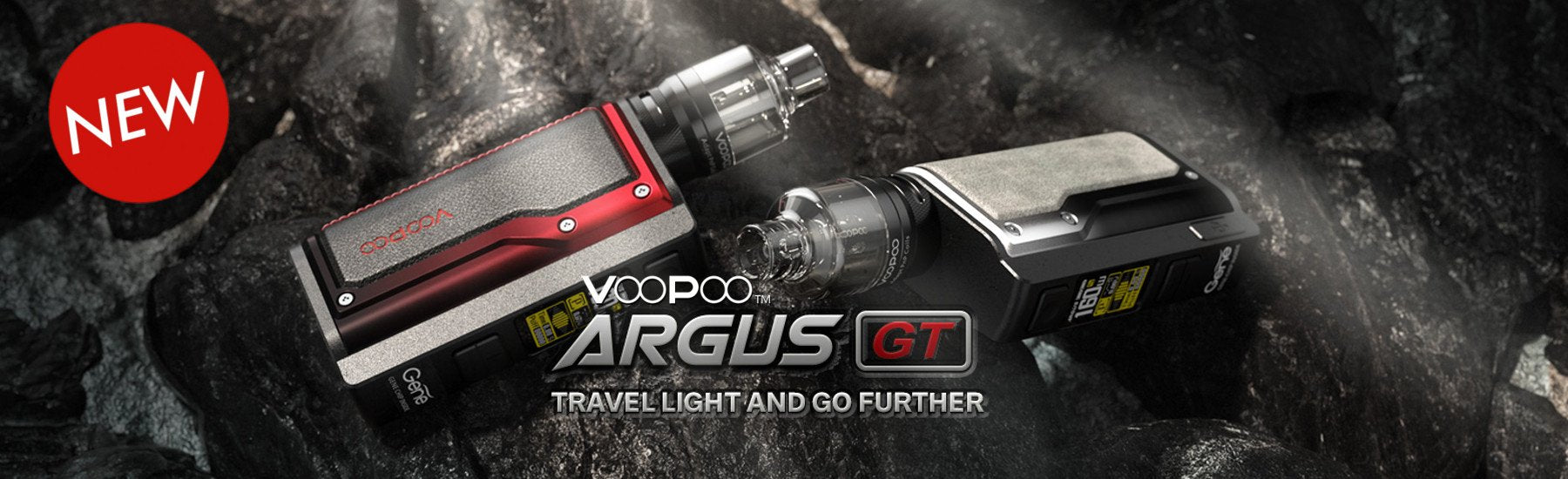 Voopoo Argus GT, Vape Kit, Dual Battery, 160W