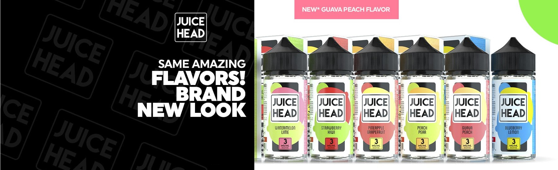 juice head, blueberry lemon, guava peach, eliquid