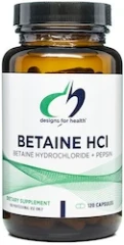 Betaine HCl - Designs for Health
