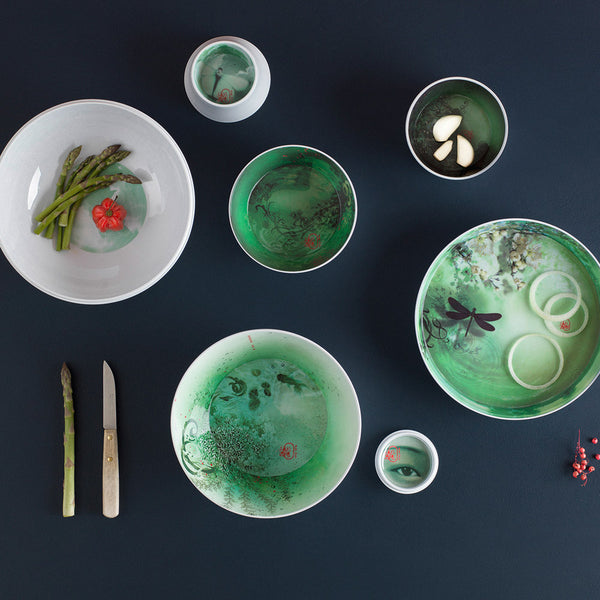 Ibride, Ming Serving Bowls, White - :IN-RESIDENCE