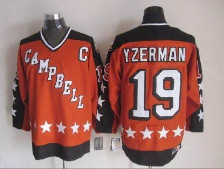 Steve Yzerman Campbell Conference All-Star Jersey