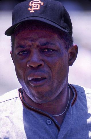 Willie Mays Closeup