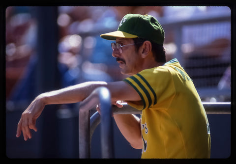 Billy Martin Looks On