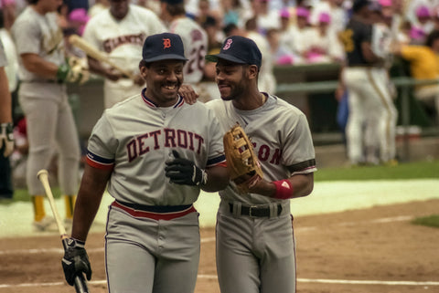 Cecil Fielder and Ellis Burks
