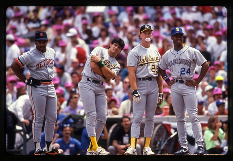 Cecil Fielder, Jose Canseco, Mark Mcgwire, and Ken Griffey Jr.