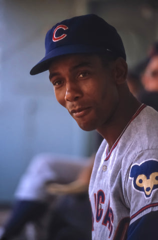 Ernie in the Dugout