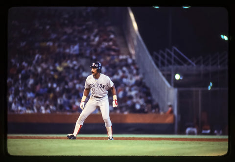 Jim Rice on the Bases