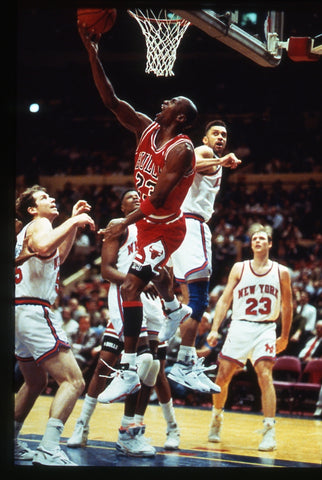 MJ Owning The Knicks