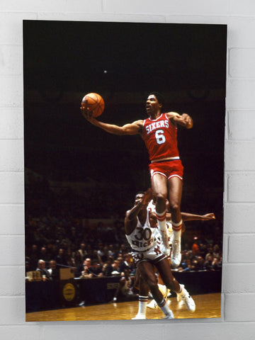Dr.J Flying Finger Roll - 24 x 36