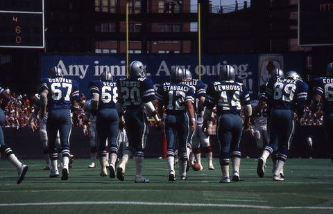 Staubach and his Troops