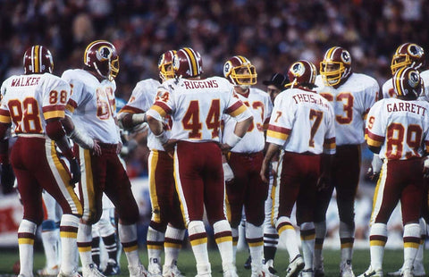 Redskins Huddle