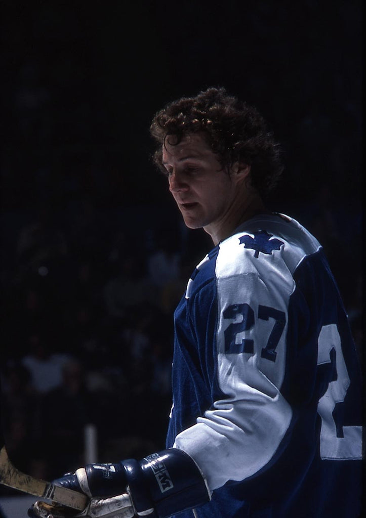 Sittler checks his stick