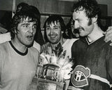 The Canadiens Big Three Celebrate