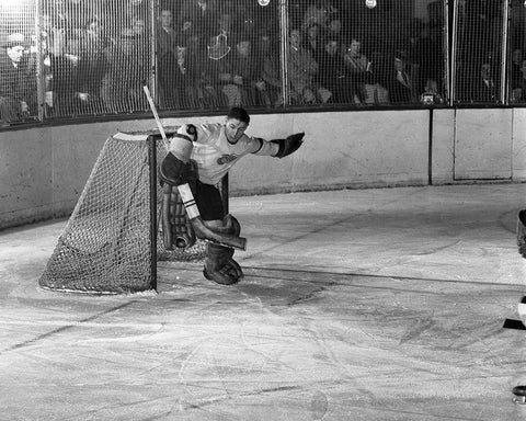 Sawchuk takes one off the arm
