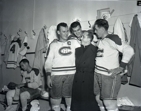Four Habs and a Priest