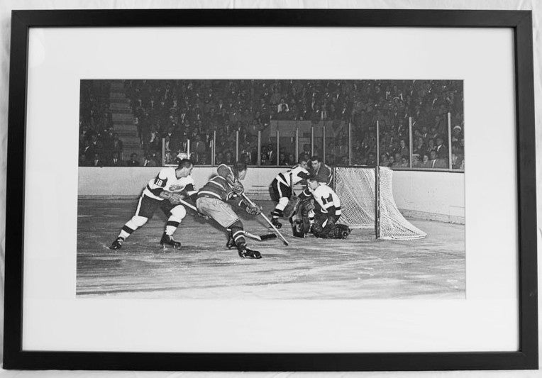 Mr. Goalie in Action - Framed Prints