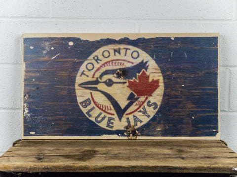 Toronto Blue Jays Wooden Sign