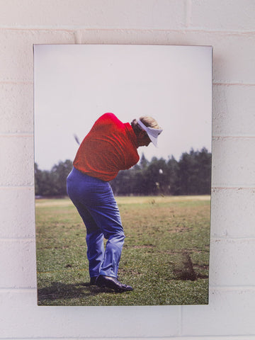 Nicklaus at Impact - 12x18