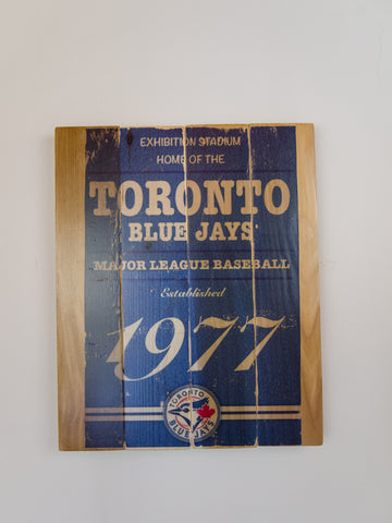 Toronto Blue Jays Wooden Sign Large