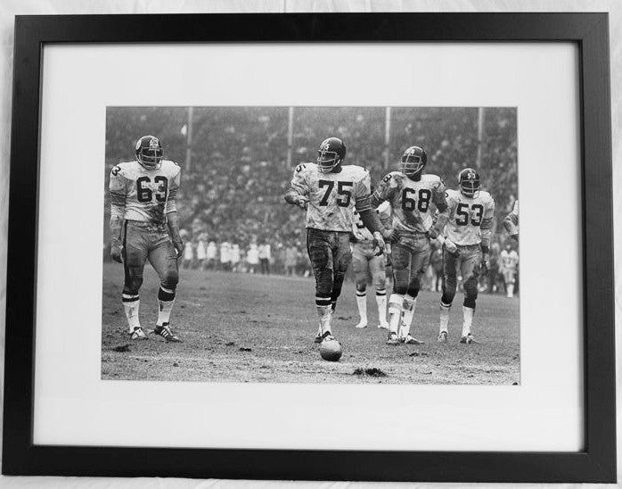 The Steel Curtain Framed Print