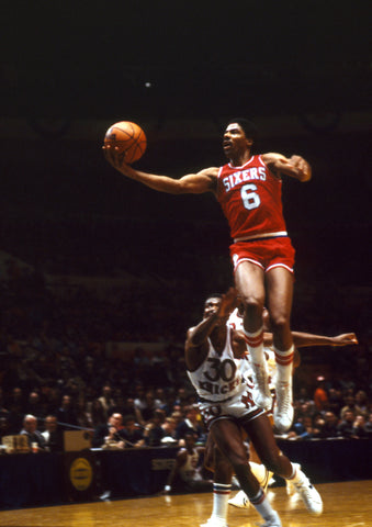 Dr J flying finger roll