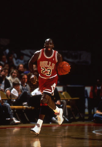 Air Jordan on the runway