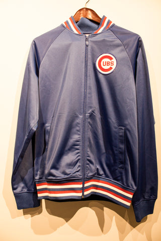 Mitchell & Ness Chicago Cubs Track Jacket