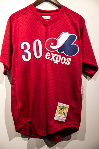 Mitchell & Ness Montreal Expos Tim Raines BP