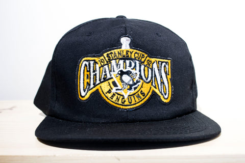 Pittsburgh Penguins 1992 Stanley Cup Champions Hat