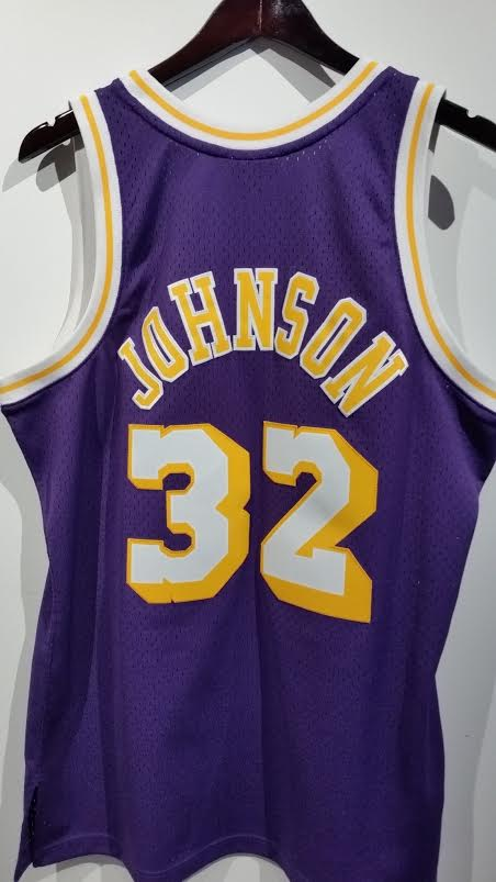 Mitchell & Ness Magic Johnson, LA Lakers 1984-85