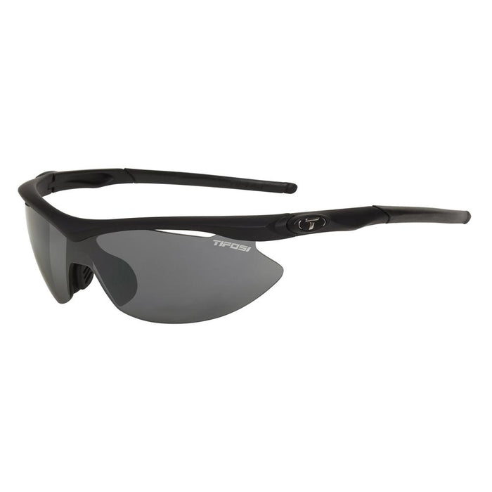 Tifosi Slip Interchangeable Lens Sunglasses - Matte Black