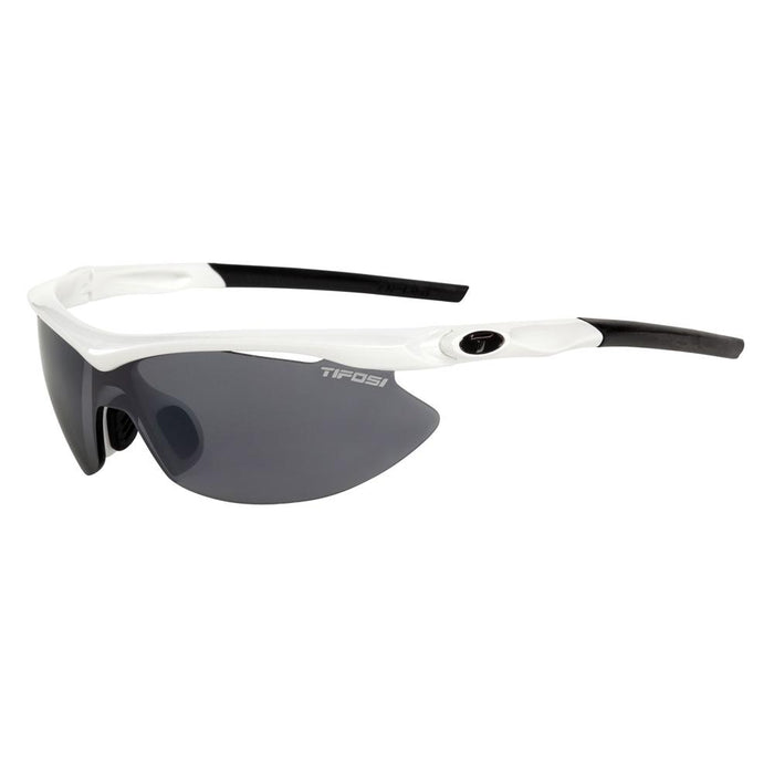 Tifosi Slip Asian Fit Interchangeable Lens Sunglasses - Pearl White