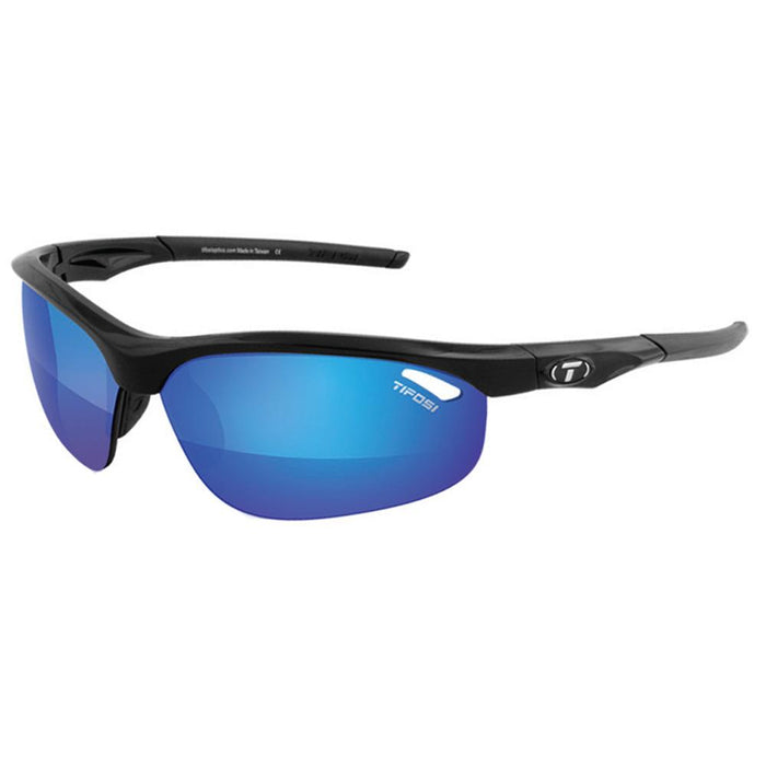 Tifosi Veloce Interchangeable Lens Sunglasses - Clarion Mirror Collection - Gloss Black