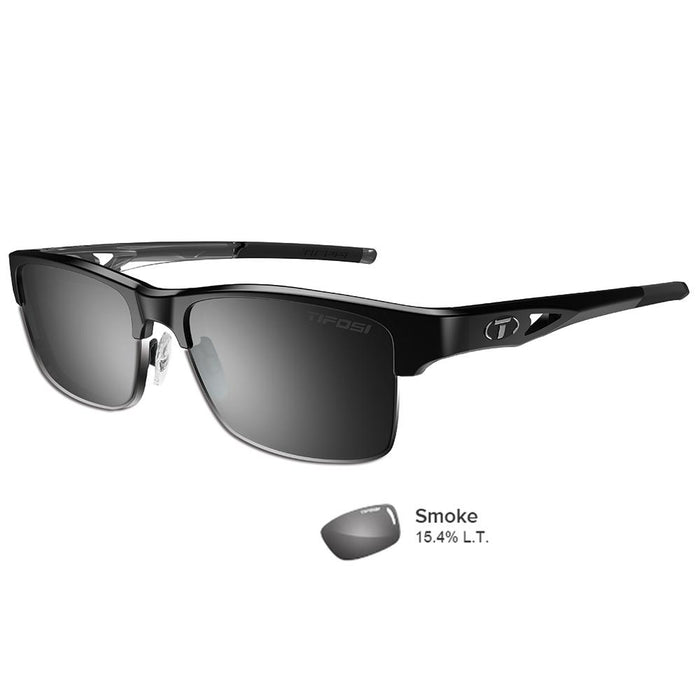 Tifosi Highwire Crystal Black Swivelink Sunglasses - Smoke
